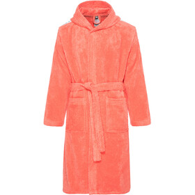 arena Core Soft Bathrobe pale-rose white